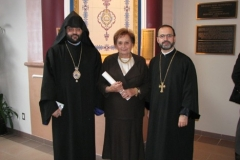 Blessing of Church's New Doors - February 4, 2007