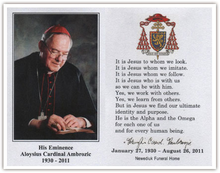 Cardinal Ambrozic