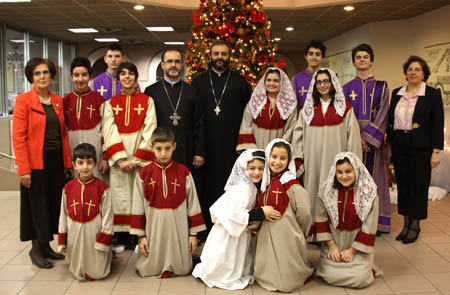 Armenian christmas in holy trinity armenian church holy trinity at the end of the divine liturgy yeraz youth choir performed christmas carols conducted by mrs meline afyan m4hsunfo
