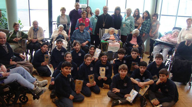 Sat School Visiting Seniors 2012