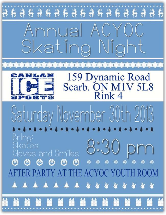 ACYOC Skating Event