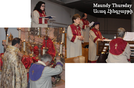 Maundy Thursday 2015