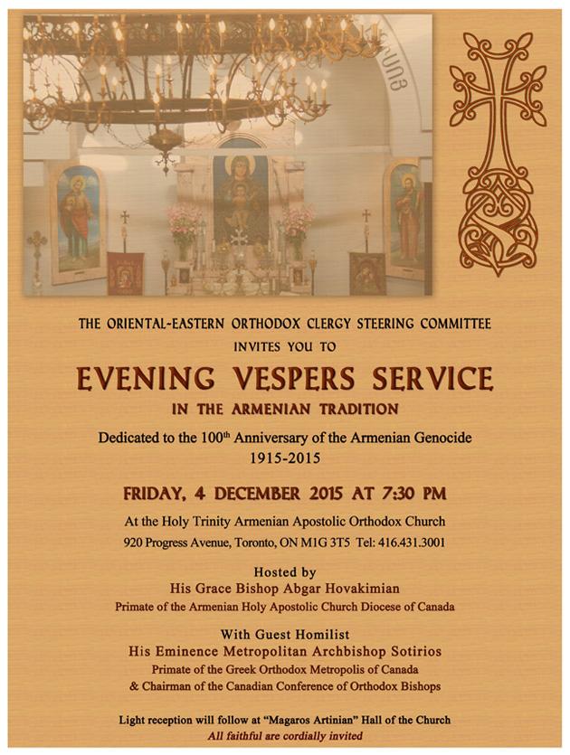 Vespers Service December 4 2015 SV3