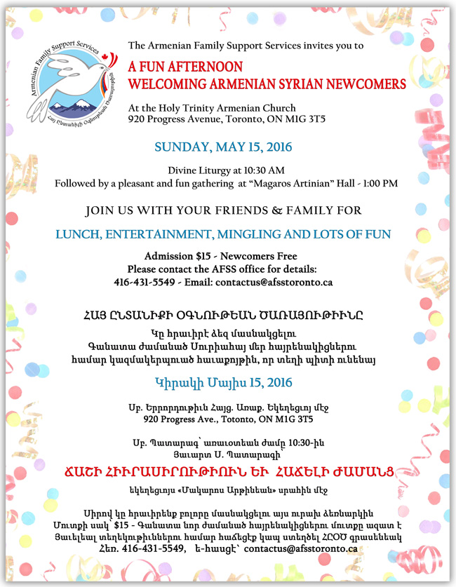 W AFSS Gathering for Newcomers 2016 May 15 -4